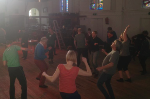 dansmeditatie kerk Ruigoord